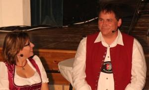 Das sympathische Moderatorenteam Sonja Köhler-Kramer und Werner Endres