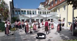Tage der Blasmusik, Standkonzert am Seniorenzentrum