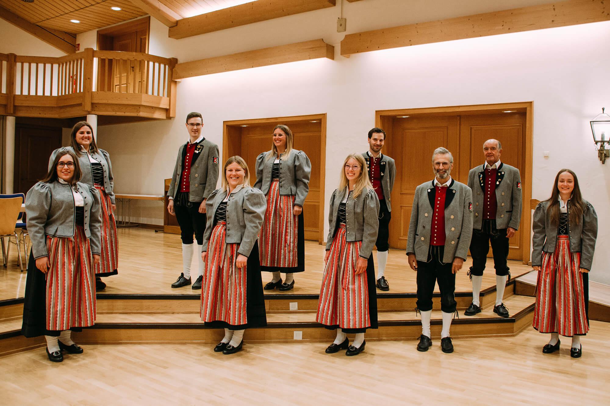 Vorstandsschaft Musikverein Dietmannsried